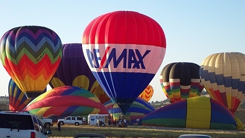 Come visit the RE/MAX Hot Air Balloon this summer