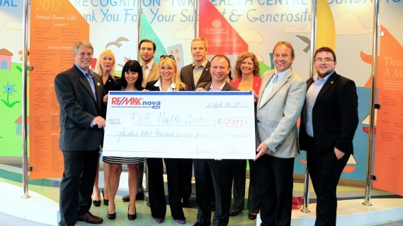 RE/MAX nova proudly supports the IWK Health Centre